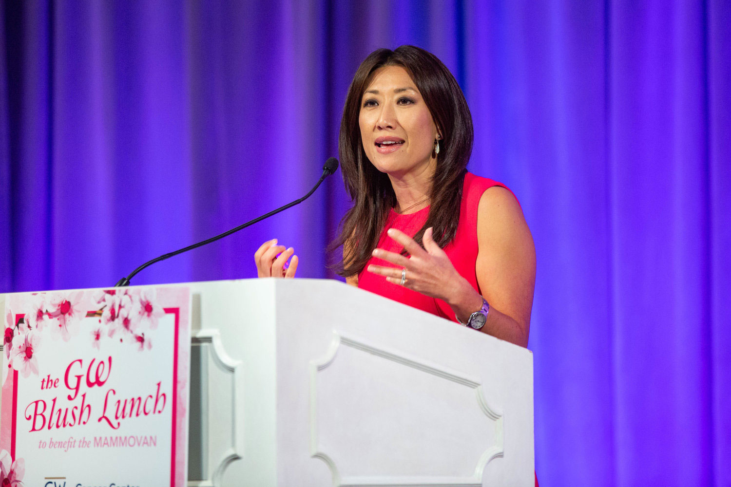 Speaker at Blush Lunch